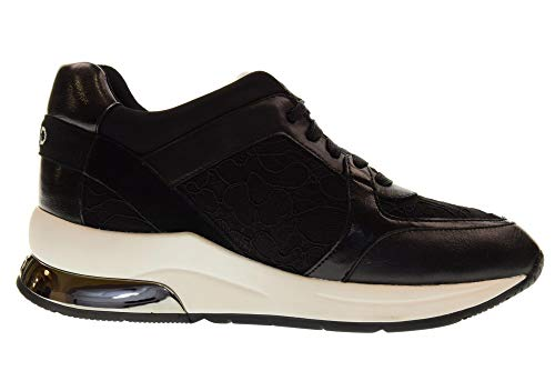Lace 05 New Up Chaussures Liu Nouveau Jo Sneakers Femmes Black Lycra Karlie Noir BxXY1HX