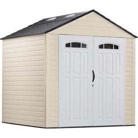 Rubbermaid Roughneck Extra Large Storage Shed 7'3 X 7'2 - 7'10H