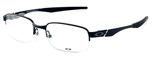 Oakley Backwind 0.5 OX3163-0352 Satin Black Clear Demo 52