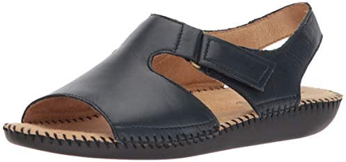 Naturalizer Women's, Scout Leather Low Heel Sandals: Amazon