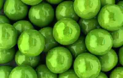 Granny Apple Pie - Gumballs By The Pound - 2 Pound Bag of Granny Green Apple