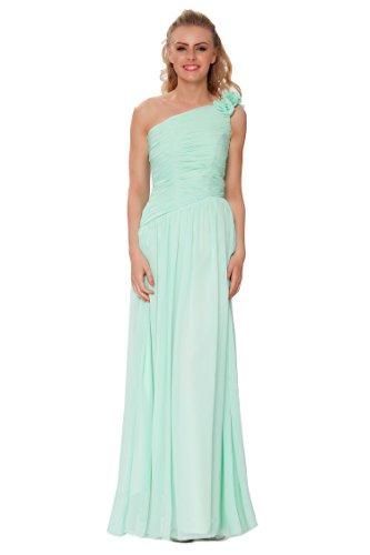 SEXYHER Gorgeous Encuadre de cuerpo entero Uno damas de honor del hombro vestido de noche formal - EDJ1448 Seamist