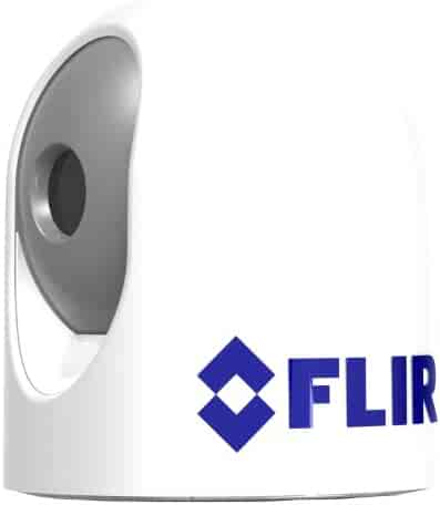 FLIR MD-625 Compact Fixed Mount Thermal Camera, White