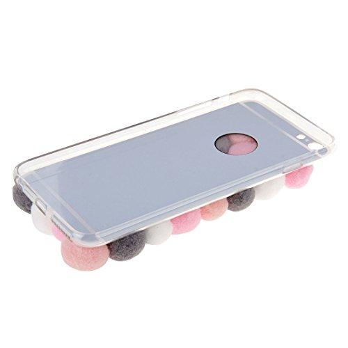 Phone Taschen & Schalen Für iPhone 6 Plus & 6s Plus 3D Pelz Bälle Muster TPU Schutzhülle ( SKU : S-IP6P-3537B )