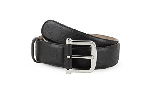 Gucci Guccissima Leather Belt, Brown (T.Moro) 281548 (34-36 US / 90 UK) by Gucci