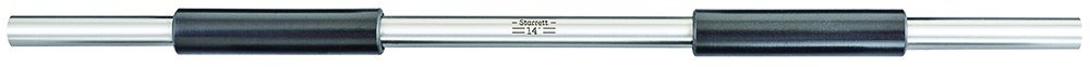 14 Length 14 Length Starrett 234A-14 End Measuring Rod with Insulated Handle and Spherical Ends