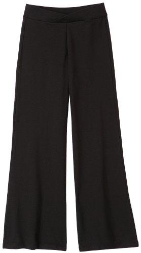 Capezio Big Girls' Jazz Pant,Black,L (12-14)