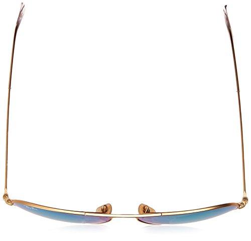 Ray-Ban RB3025 Polarized Mirror Aviator Sunglasses