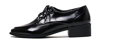 GMMDB006086 Medio Allacciare AgooLar Nero Donna Flats Ballet Puro Tacco 0wZHZtCq