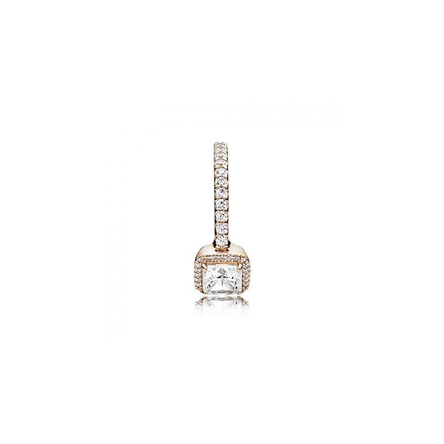Pandora Timeless Elegance Ring, Pandora Rose, Clear CZ, 6 US, 180947CZ 52