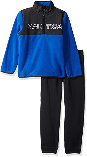 Nautica Sets (KHQ) (RJ7QG) Kids & Baby 2 Pieces Pullover Pants, Blue/Black, 7