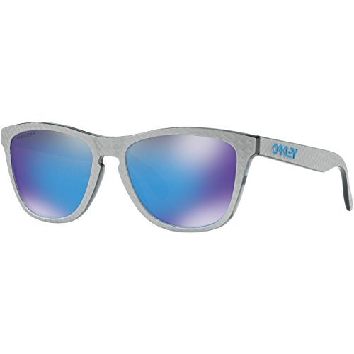 Oakley Frogskins Sunglasses,Checkbox Silver by Oakley