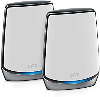 2-Pack Netgear Orbi Whole Home Mesh Wi-Fi 6 System (RBK852)