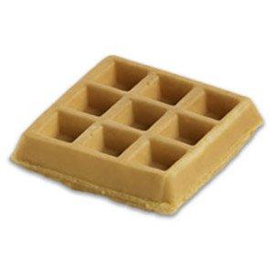 Krusteaz Belgian Waffles, 4 inch, 2.399 oz, (72 per case)