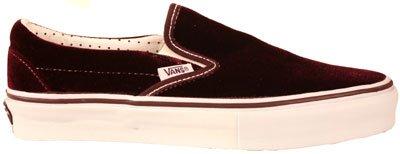 941cfd0249839a Vans Classic Slip On LX Velvet Potent Purple White Shoe 55154 - UK6   Amazon.co.uk  Shoes   Bags