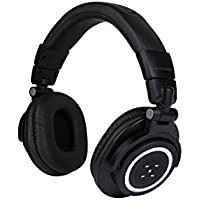Bluetooth headphone over ear, HIFI stereo wireless headset, foldable and ajustable headband, Soft earpads with built in mic.for PC, cell phones or Ipad.