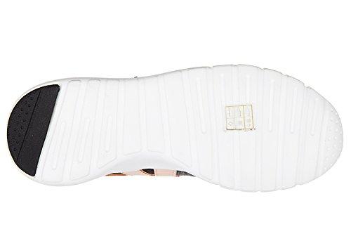 Emporio Armani EA7 scarpe sneakers donna nuove originale new racer grigio
