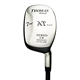 #7 Hybrid Iron (34 degree) – Regular Flex – Right Handed – Model AT725 – Utility Rescue Club – by THOMAS GOLF
