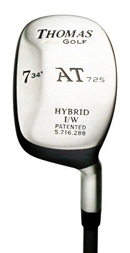 #7 Hybrid Iron (34 degree) - Stiff Flex - Right Handed - Model AT725 - Utility Rescue Club - by THOMAS GOLF by THOMAS GOLF