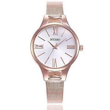 Relojes Hermosos, Mujer Reloj de Vestir Reloj de Pulsera Cuarzo Reloj Casual Aleación Banda Analógico