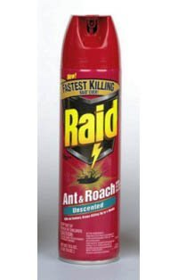 (SJN660490EA - Raid Fragrance Free Ant and Roach Killer)