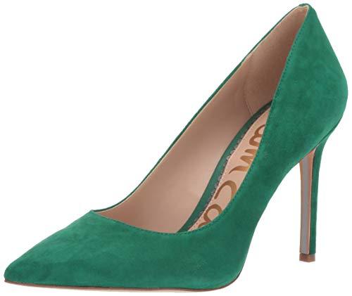 - Sam Edelman Women's Hazel Shoe, Spring Green Suede, 8.5 M US
