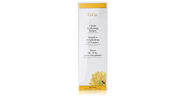 Gigi Cloth epilating for All Soft waxes - 100 Strips, 1er Pack (1 x 165 g): Amazon.es: Salud y cuidado personal