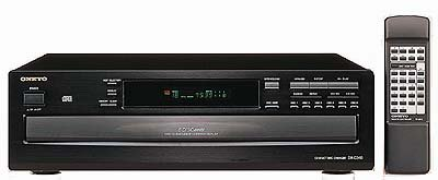 Onkyo DX-C340 6 Disc Compact Disc CD Changer Complete With Remote and Instruction Manual