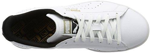 Puma Hombres Blanco & Negro Court Star CRFTD Zapatillas Blanco Storm