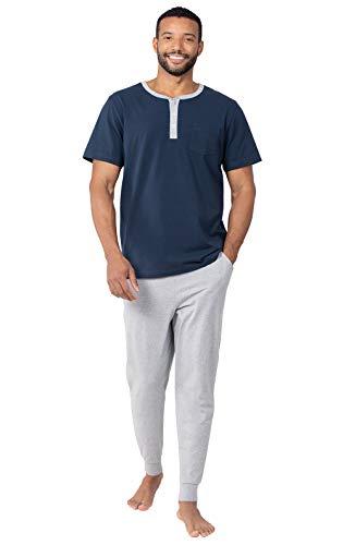 Personalized Pajama Sets - PajamaGram Mens PJs Set Cotton -