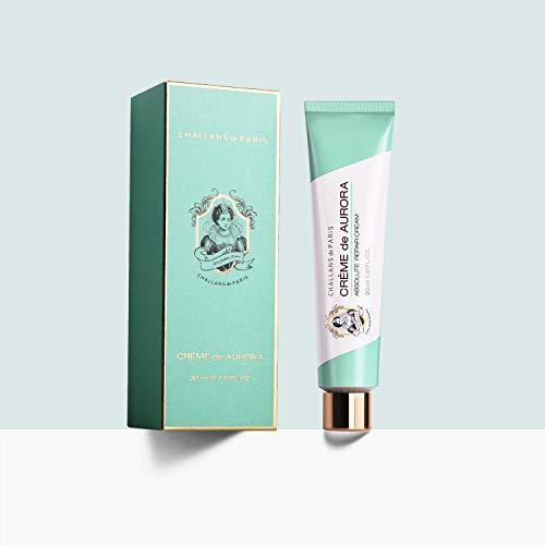 CHALLANS de PARIS CREME de AURORA 30ml 1.01 fl. oz Trouble and Irritation Care Night Cream for Dry and Sensitive Skin Types