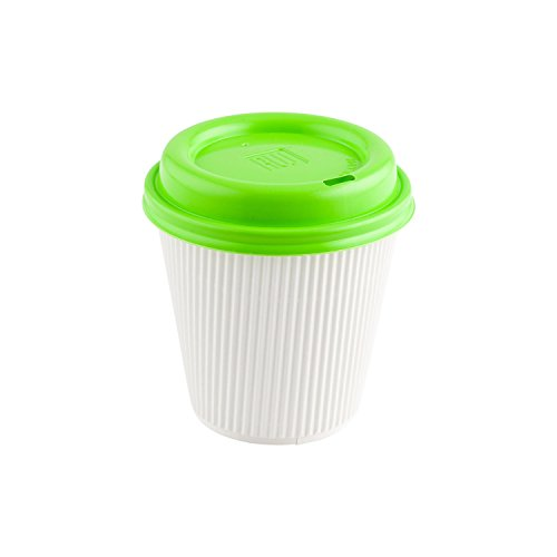 Restpresso Coffee Cup Lid - Lime Green - Fits 8, 12 & 16 oz Coffee  and Tea Cups - 50ct Box - Restaurantware