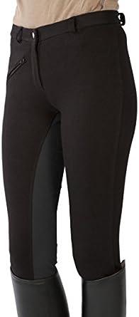 Pfiff Reithose Vollbesatzhose Pantaloni da equitazione con rinforzo completo Donna