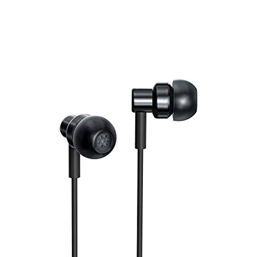 Xiaomi Redmi Hi-Resolution Audio Wired Earphone with Mic (Black, in The Ear)