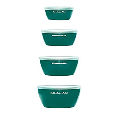 KitchenAid Prep Bowls, Set of 4, Deep Teal