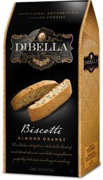 - Dibella Biscotti, Almond Orange, 6.6 Oz (2-Pack)