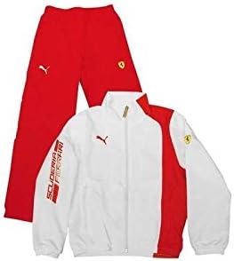 Chándal Deporte niño Unisex Ferrari Rojo/Blanco: Amazon.es: Ropa y ...