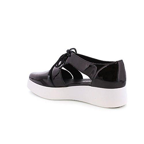 Sixtyseven 77732 - Zapatos de vestir para mujer Patent negro/Negro