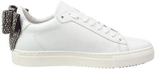 Da Tennis bianco Stokton Formatori Bianco Scarpa Bianco Delle Donne fwqz5Ep
