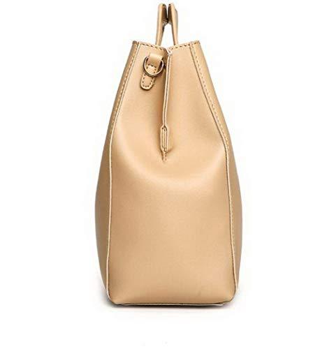 Borse Cachi Donna Moda Tote Shopping Dacron Style AllhqFashion a Cachi tracolla FBUIBC181944 6qY1x