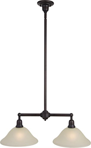 Maxim 11092SVOI, Bel Air Large Cone Pendant, 2 Light, 200 Total Watts, Oil Rubbed Bronze