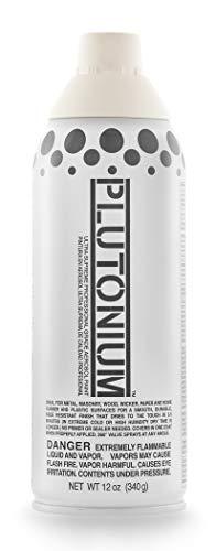 Plutonium Paint PLUTON-10100 Professional Grade Aerosol Spray Paint, 12-Ounce Polar, one, White