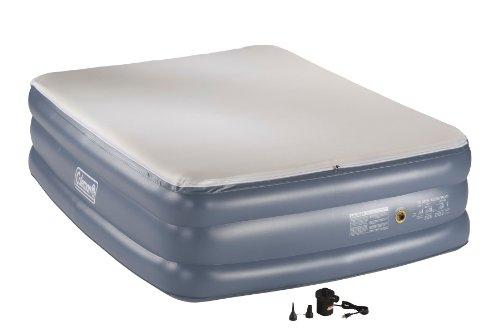 Coleman Memory Foam Double-High Premium Airbed, Queen, Outdoor Stuffs