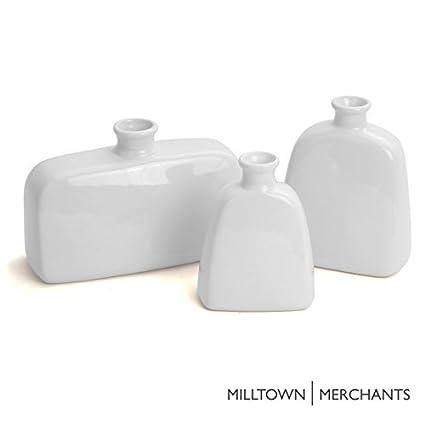 Amazon Milltown Merchantstrade Ceramic Vase Set Set Of 3