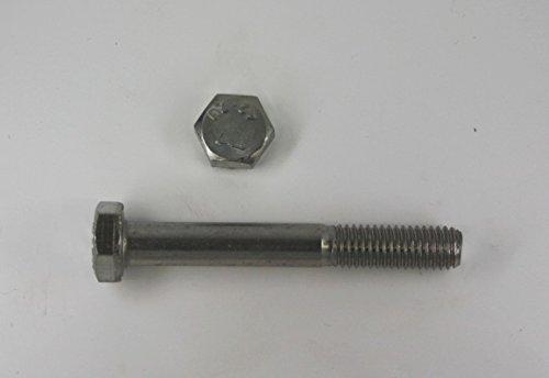 DIN 931 M6 x 130 10 Stk Sechskantschraube mit Schaft Edelstahl V2A