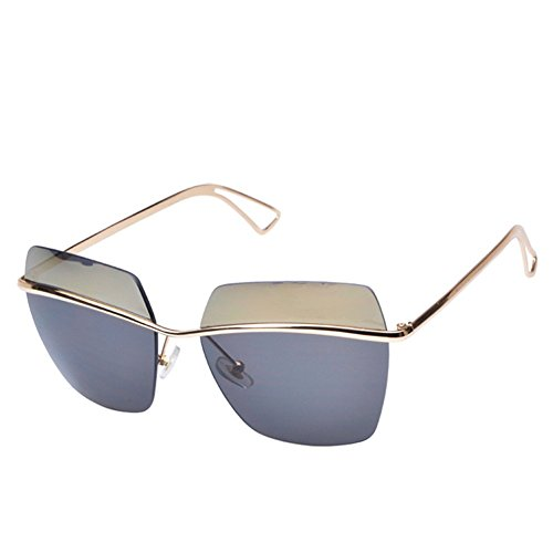 MosierBizne The New Card Is Still Fashionable Ms Yi Rimless Glasses - Glasses Jlo