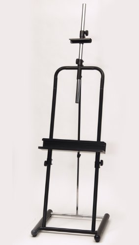 Home Office Deluxe Easel Black