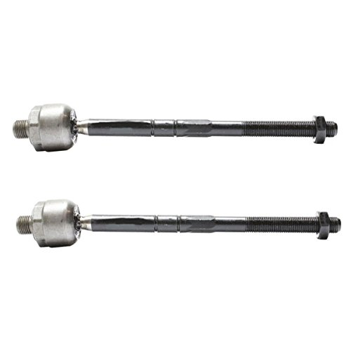 Detroit Axle - Both (2) New Front Driver and Passenger Side Inner Tie Rod Ends