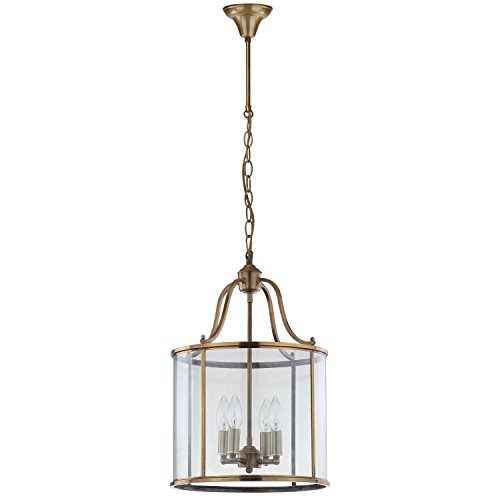 Sconce Traditional Pacific (Safavieh Lighting Collection Sutton Place Brass 94.5-inch Pendant Light)