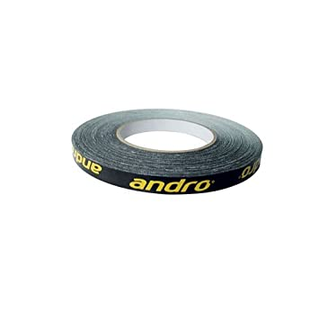 Andro Edge Tape 10mm 5m black//yellow
